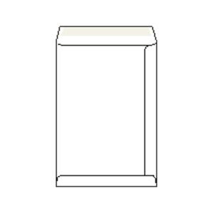 Weiße Versandtaschen mit Fenster - links C4(229 x 324 mm), 250 Stück/Packung