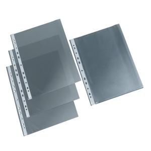 Matte Prospekthüllen A4 40 Mikron, Packung mit 100 Stück