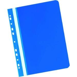 Herlitz blaue Präsentationshefter mit Lochrand A4