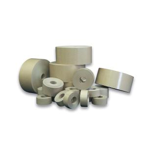 Braune Papierpackbänder 50 mm x 50 m, Packung mit 4 Stück
