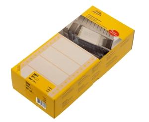 Avery Zweckform Einweg- Tabellieretiketten, 88,9 x 23 mm,weiß, 2000 Stück