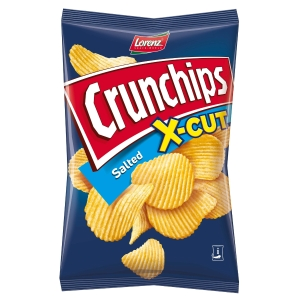 Lorenz Crunchips X-Cut Kartoffelchips gesalzen 85 g