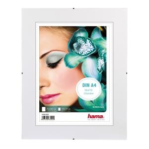 Hama Clip-Fix  Fotorahmen A4, Größe: 21 x 29,7 cm