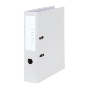 Standardordner A4 weiß, Rückenbreite: 80 mm