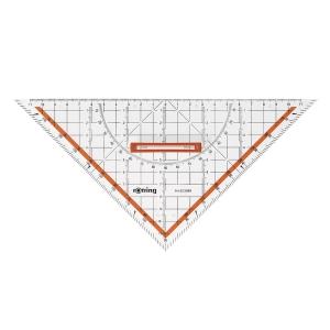 Rotring rechtwinkliges Dreieck mit Winkelmesser