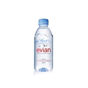 Evian Mineralwasser 0,3 l, 24 Stück