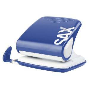 Sax 418 2-fach Locher 25 Blatt blau