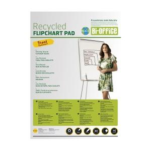 Bi-Office Flipchartblock 99 x 66 recycelt, 20 Blatt