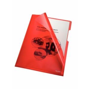 Bene Sichthüllen PP A4 150 Mikron rot