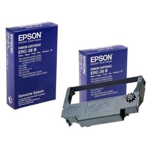 EPSON Farbband für Drucker ERC-38B (S015374) schwarz