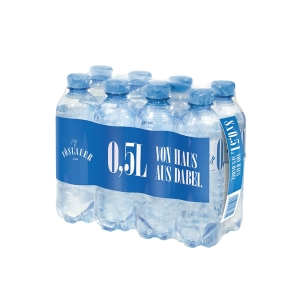 Vöslauer Mineralwasser mit wenig Kohlensäure 0,5 l, 8 Stück