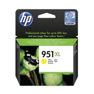 Tintenpatrone HP CN048AE - 951XL, Reichweite: 1.500 Seiten, gelb