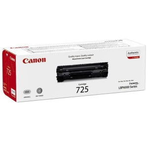 CANON Lasertoner CRG-725 (3484B002) schwarz