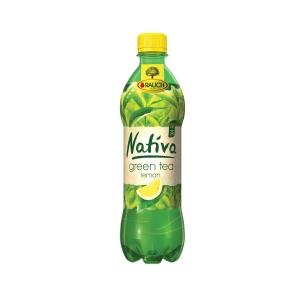Rauch Nativa Grüner Tee Zitrone 0,5 l, 12 Stück