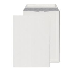 B4 Briefumschläge (250 x 353 mm), selbstklebend, Haftstreifen, weiss, 250 Stück