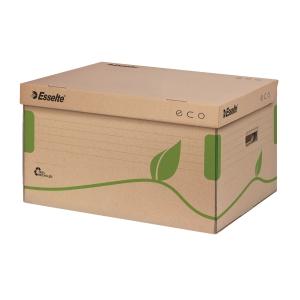 ESSELTE ECO Archivcontainer mit Deckel 10 Stück