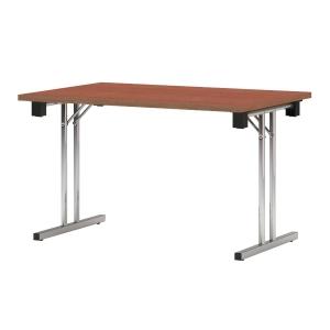 Eryk Konferenztisch, zusammenklappbar, 120 x 80 x 72 cm, braun