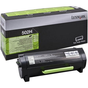 Lexmark 50F2H00 Toner  502H schwarz
