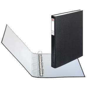 Herlitz Ringbuch PP, 4 Ringe Ø40 mm, rückenbreite 40 mm, schwarz