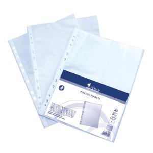Prospekthülle DIN A4, Stärke: 50 µm, transparent, 100 Stück