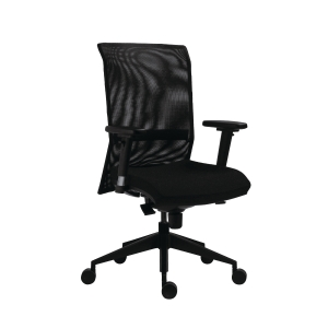 Antares 1580 Syn Gala Bürodrehstuhl, Net, schwarz
