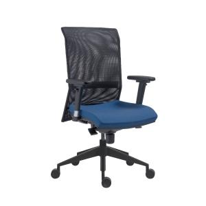 Antares 1580 Syn Gala Net Bürodrehstuhl blau