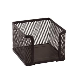 SaKOTA Zettelbox aus Drahtmetall 100 x 100 x 100 mm