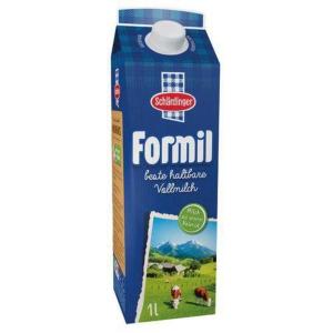 Formil Milch, Fettgehalt: 3,5 %, Inhalt: 1 l