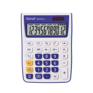 Rebell SDC912+ Tischrechner mit 12-stelligem Display, violett