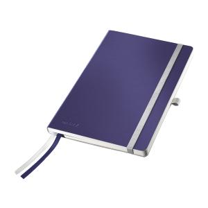 Leitz Style Notizbuch A5, kariert 5x5, blau, weiche Einbanddecke