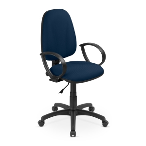 Flox Bürostuhl, permanent, blau