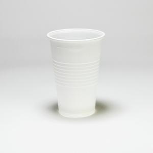Weißer Kunststoffbecher 200 ml, 100 Stück