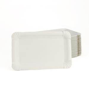 Einweg-Pappteller 10 x 16 cm, 100 Stück