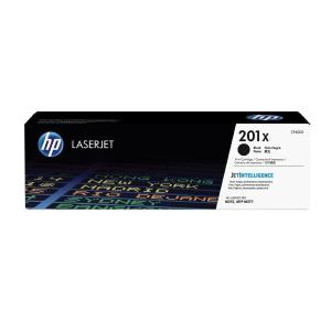 Toner HP 201X HIGH YIELD CF400X schwarz für Laserdrucker