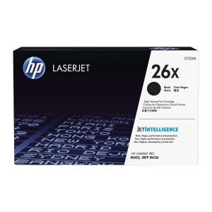 Toner HP 26X HIGH YIELD CF226X schwarz für Laserdrucker