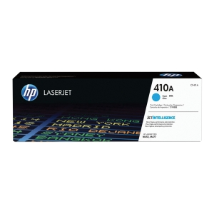 HP Toner für Color LaserJet, CF411A, cyan, Kapazität: 2300 Seiten
