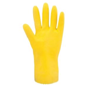 ARDON Stanley Latex-Reinigungshandschuhe, gelb, Größe L