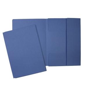 Hit Office classic 3-Flügelmappe, blau