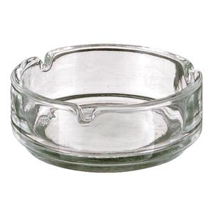 Vepa Tischaschenbecher aus Glas, rund