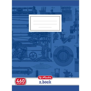 Herlitz Hefte, A4, 60 Blatt, blanko