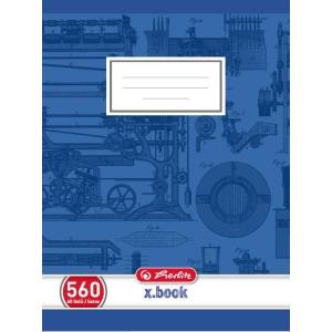 Herlitz Hefte, A5, 60 Blatt, blanko
