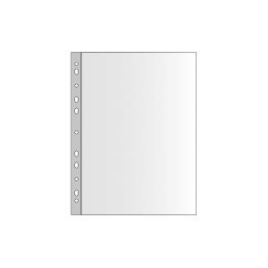 Prospekthülle, matt, A4, 40 μm, 100 Stk
