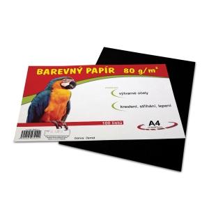 Stepa Farbpapier, 80 g/m², A4, schwarz, 100 Blatt