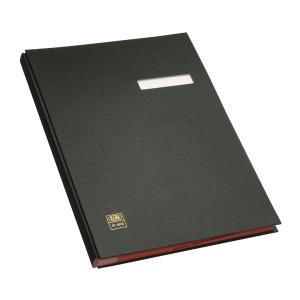 Elba Unterschriftsmappe, PVC, 20 Fächer, schwarz