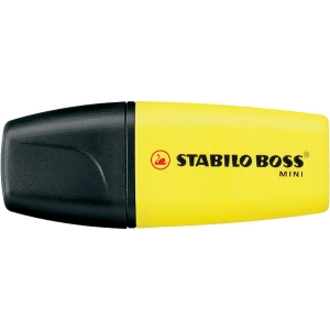 Stabilo Boss Mini Textmarker, gelb