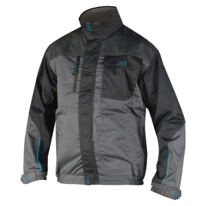 ARDON 4Tech Arbeitsjacke, grau-schwarz, Größe 54