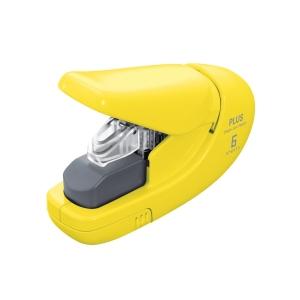 PLUS 206 klammerloses Heftgerät gelb
