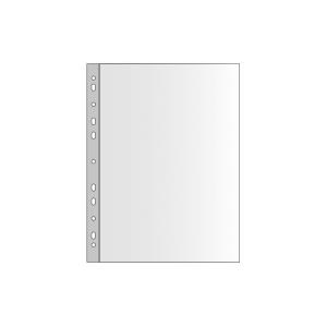 E50 Prospekthülle 45 Mic A4, klar, 100 Stück