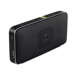Leitz tragbarer Bluetooth Lautsprecher, Batterie 2600 mAh, Größe: 150x70x24 mm