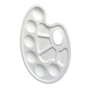 Herlitz Kunststoff-Malpalette weiß